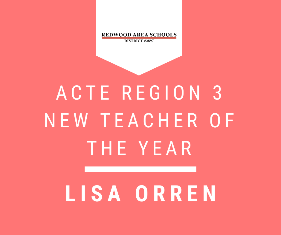 ACTE Region 3 New Teacher of the Year: Lisa Orren